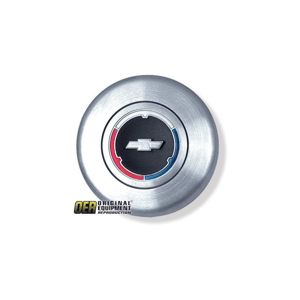 Chevy Camaro/Chevelle/Chevy II/El Camino/Impala/Nova Steering Wheel Horn Cap   w/ Bowtie 67 68 69 70