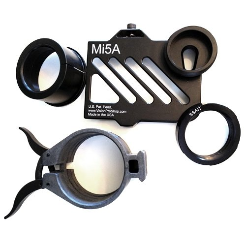 Minits Iwitness Ssa Kit 5-L For Iphone 5 And Leupold Mk 4 Or Gold Ring Spotting Scopes