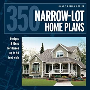 350 narrow lot home plans designs ideas for homes up to for 50 foot wide house plans