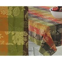 Sonoma Fall Collection Leaves Tablecloth 60