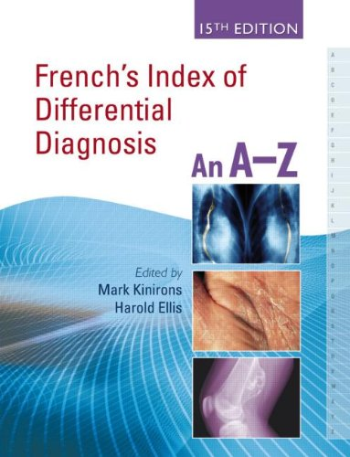 French'S Index Of Differential Diagnosis, 15Th Edition An A-Z
