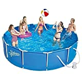 Summer Escapes Frame Pool 366x91cm Rahmen Swimming Pool Familien Schwimmbad