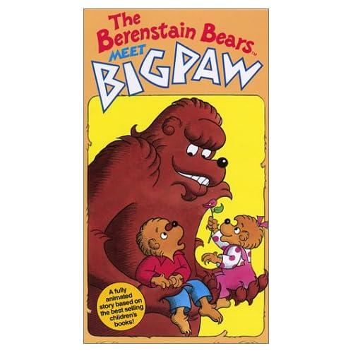 Amazon.com: The Berenstain Bears Meet Big Paw [VHS]