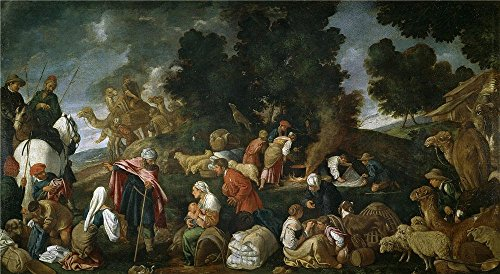 'Orrente Pedro De Laban Busca Los Idolos 1620 25 ' Oil Painting, 24 X 44 Inch / 61 X 111 Cm ,printed On Polyster Canvas ,this Reproductions Art Decorative Canvas Prints Is Perfectly Suitalbe For Hallway Decoration And Home Decor And Gifts