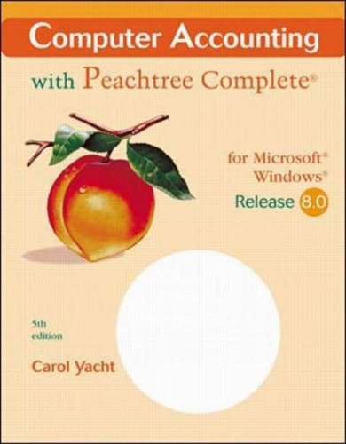 Computer Accounting With Peachtree Complete for Microsoft Windows: Release 8.0 : Spiral