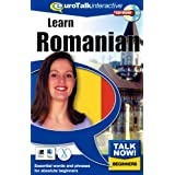 Talk Now Learn Romanian: Essential Words and Phrases for Absolute Beginners (PC/Mac)by EuroTalk Limited