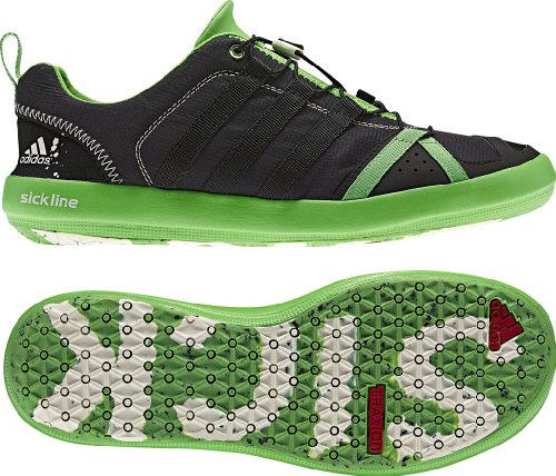 fb59e06434a973 Buy adidas OUTDOOR - Speed Boat Water Shoes - Solid Grey Intense Green Black