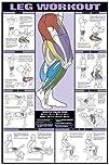 Leg Workout 248243 X 368243 Laminated Chart