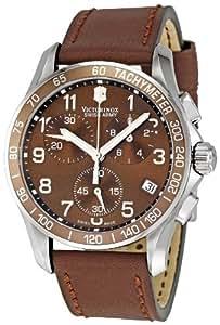 Victorinox Swiss Army Men's 241151 Chrono Classic Brown Dial Watch