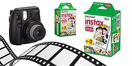 Fujifilm Instax Mini8 Instant Camera (With 40 Film Exposures) Image