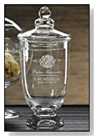 Novella Glass Apothecary Jar With Lid