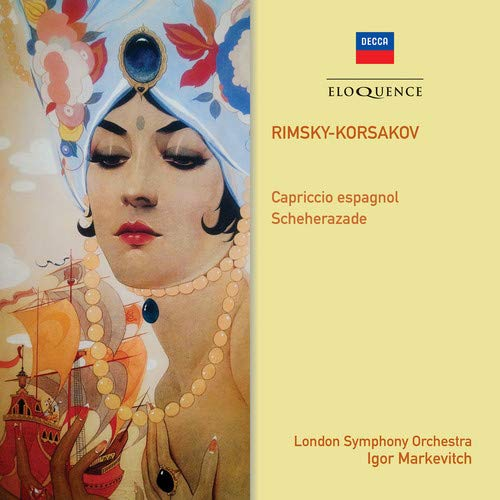 CD : RIMSKY-KORSAKOV / MARKEVITCH,IGOR - Rimsky-korsakov: Scheherazade Capriccio Espagnol