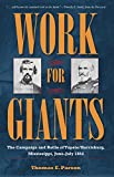Work for Giants: The Campaign and Battle of Tupelo/Harrisburg, Mississippi, June-July 1864 (Civil War Soldiers and Strategies)