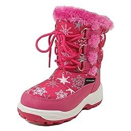Nova Toddler Girl\'s Winter Snow Boots NF Girl 510 Fuchsia 9