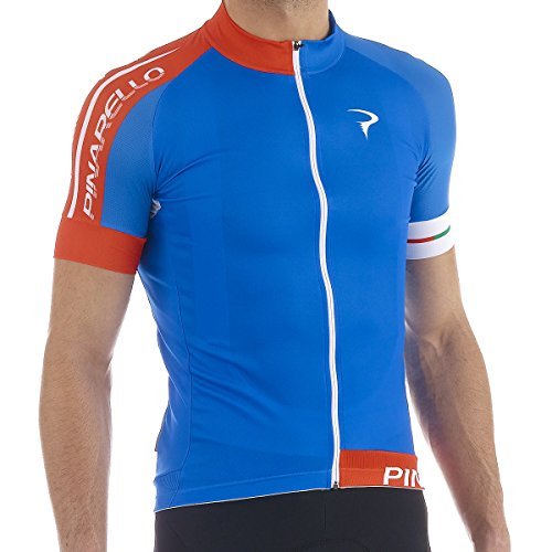 Pinarello 2015 Men's Pista Corsa Short Sleeve Cycling Jersey - PI-S5-SSJY-PIST