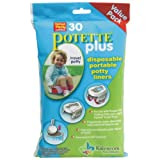 Kalencom Potette Plus 30 Potty Liners Value