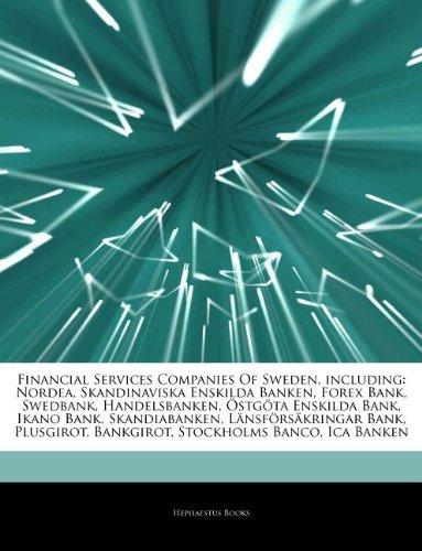 articles-on-financial-services-companies-of-sweden-including-nordea-skandinaviska-enskilda-banken-fo