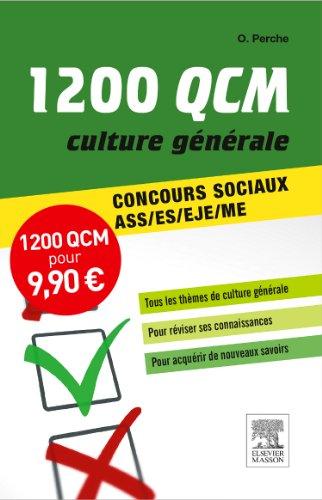 1 200 QCM Culture générale Concours sociaux NP