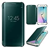 Rapid Zone Clear S - View Flip Cover For Samsung Galaxy S7 Edge - Black