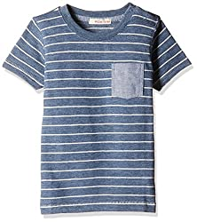 Fox Baby Boys' T-Shirt (Petrol Melange_12-18 Months_327578)