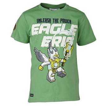 Lego Wear - T - Shirt Garçon - Vert - Grün (Pale Green) - FR : 4 ans (Taille Fabricant : 104) (Brand size: 104)