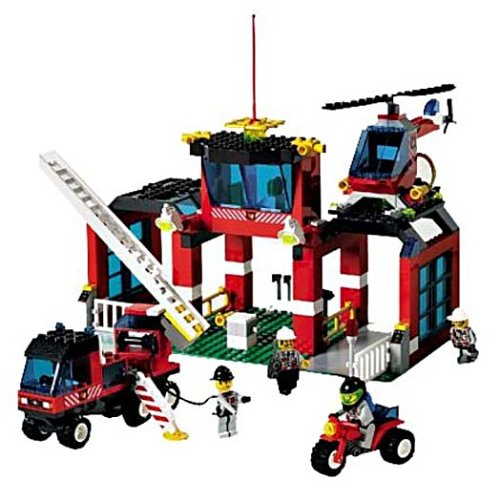 LEGO City 6478 Fire Fighters' HQ