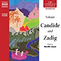 Candide and Zadig (       UNABRIDGED) by Voltaire Narrated by Neville Jason