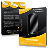 2 x SWIDO Diamond Clear Screen Protector for Panasonic Lumix DMC-FX77 / FX-77 - PREMIUM QUALITY (hard-coated, bubble free application)