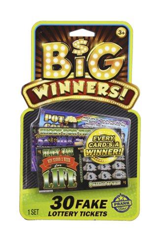 Sky Rocket Prank Star Fake Lottery Tickets (30-Piece) - 1