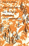 img - for Gifts That Differ: Lay Ministries Established and Unestablished (Studies in the Reformed Rites of the Church) book / textbook / text book