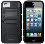 LUVVITT® ARMOR SHELL Double Layer Shock Absorbing Case for iPhone 5C (LIFETIME WARRANTY | Retail Packaging) – Black Reviews