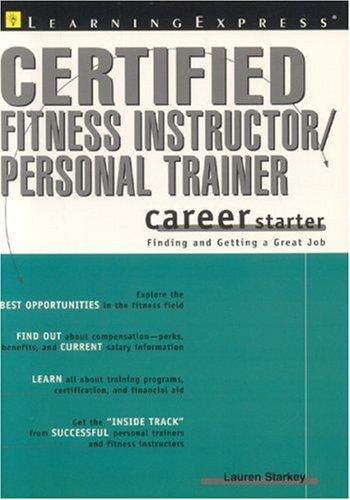 Certified Fitness Trainer Career Starter