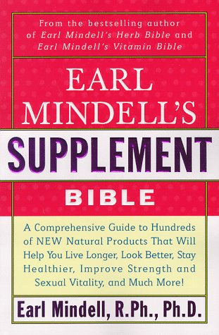 Image for Earl Mindell's Supplement Bible