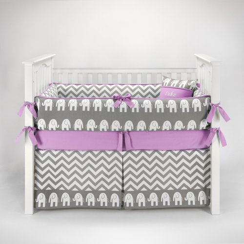 Baby Elephant Bedding 7149 front