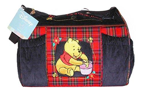 Disney Winnie the Pooh Baby Shower Corduroy Diaper Bag - 1