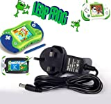 HNPtech UK Wall Charger LeapFrog 9V LeapPad,Leapster Explorer Learning Tablet,Leapster2