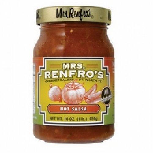 Mrs Renfro's Hot Salsa (6x16Oz ) mrs dalloway