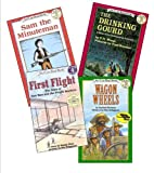 img - for I Can Read Historical Pack (Level 3 & Level 4): Sam the Minute Man; First Flight; the Drinking Gourd, a Story of the Underground Railroad; Wagon Wheels book / textbook / text book