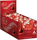 <p>A delicate milk chocolate shell enrobes an irresistibly smooth milk chocolate center. Each display box contains 120 individually wrapped Lindor truffles. Discover the LINDOR truffle. Smooth, melting, luscious. When you break its shell, LINDOR starts to melt and so will you.</p>