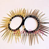 Fashion Personality Punk Rock Gothic Rivets Spike Hair Holder # SILVER