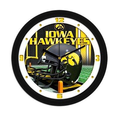 Iowa Hawkeyes NCAA Football Helmet Wall Clock