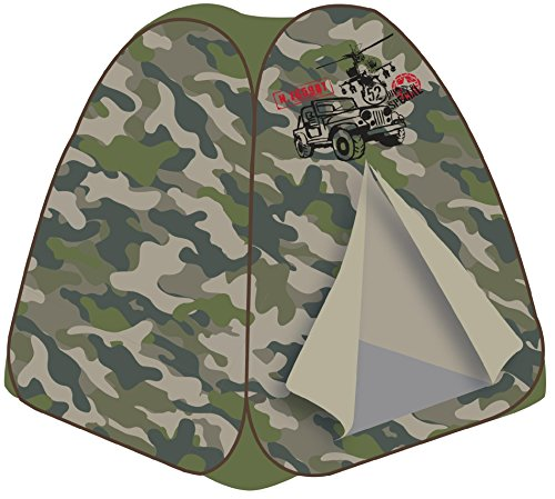 Boys Play Tent Camo Play Fort front-132400