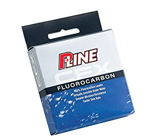 P-Line CFX Fluorocarbon Leader Material 27 YD Spool from P-Line