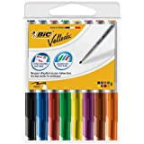 BiC Velleda 1741 White Board Markers - Assorted (Pack of 8)