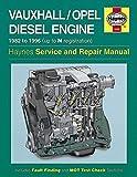 Haynes Vauxhall/Opel 1.5, 1.6 1.7 litre Diesel Engine (82 - 96) up to N Car Maintenance Service Repair Manuals HAYNES MANUAL MANUALS 1222
