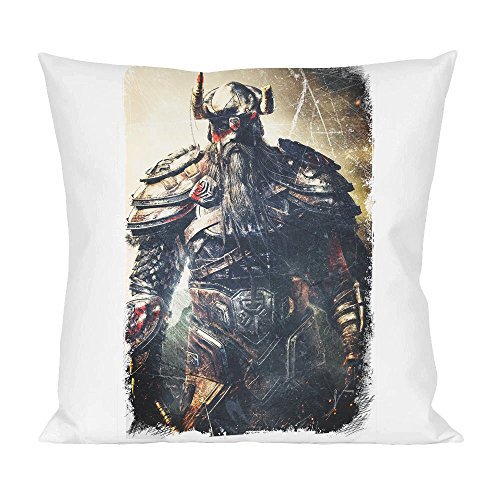 Viking Battle For Asgard King Cuscino Pillow Cushion Extra Soft Polyester for Bed Home Furniture By Slick Stuff