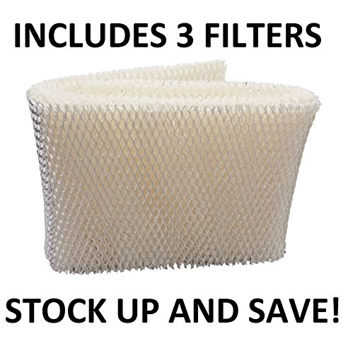 Humidifier Wick Filter for Kenmore Emerson 14906 42-14906 (3 Pack)