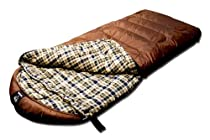 Grizzly +25 Degree RipStop Sleeping Bag (Tan)