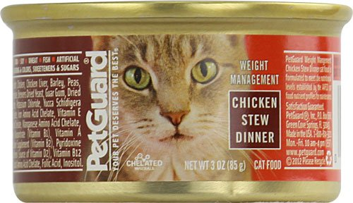 PetGuard Weight Management Chicken Stew Dinner