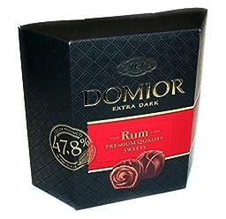 Domior Extra Dark Crispi Wafer with Rum Taste 420gr